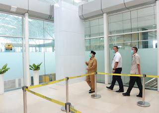 Gubernur Jambi Tinjau Kesiapan di WTC Batang Hari dan Bandara Sultan Thaha