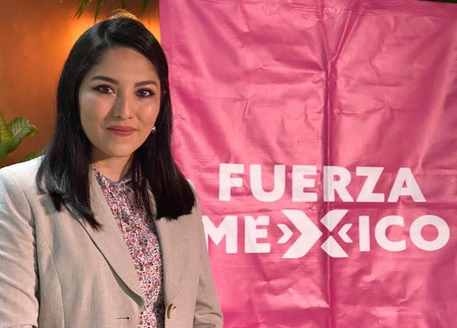 Presentan a Dalia Patricia Novelo presidenta del comité municipal de Fuerza por México en Progreso