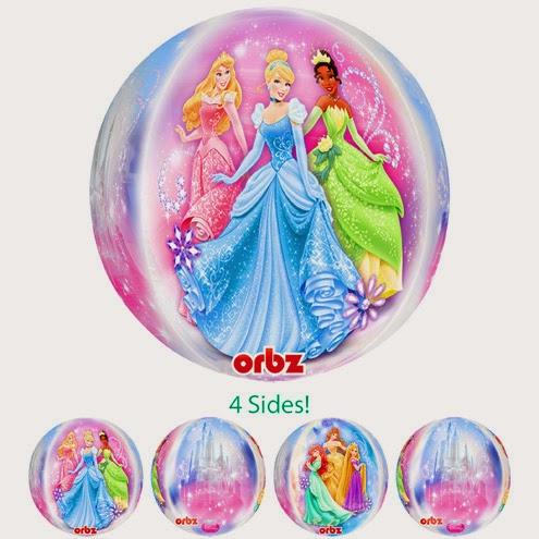 Фольгированные шарики бал принцесс