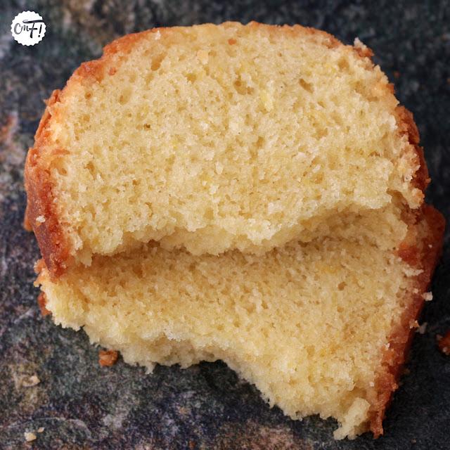 Cake au citron et à l'huile d'olive Christophe Bacquié