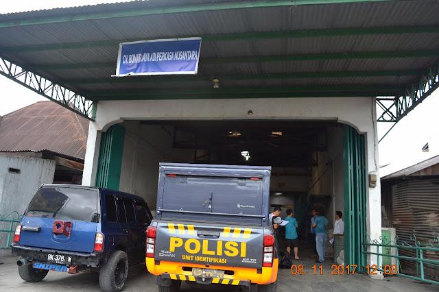 Tidak terima Kilang padi nya dibobol maling, Gunawan melaporkan ke Mapolres siantar