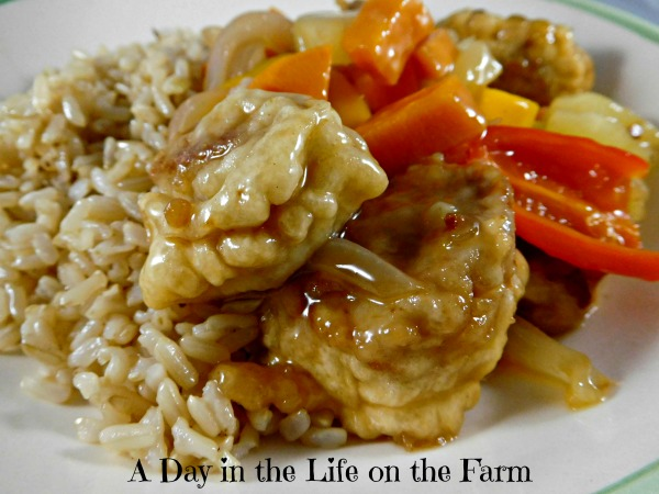 Sweet and Sour Pork by A Day in the Life on the Farm