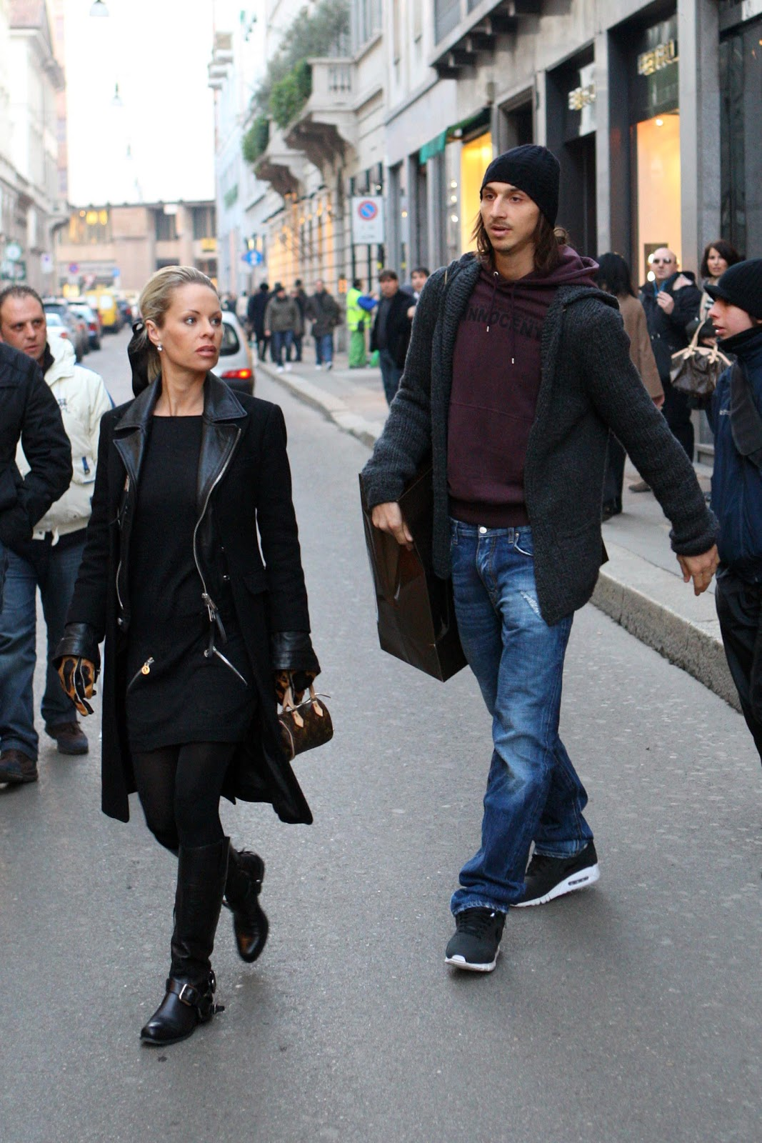 Zlatan Ibrahimovic s Girlfriend