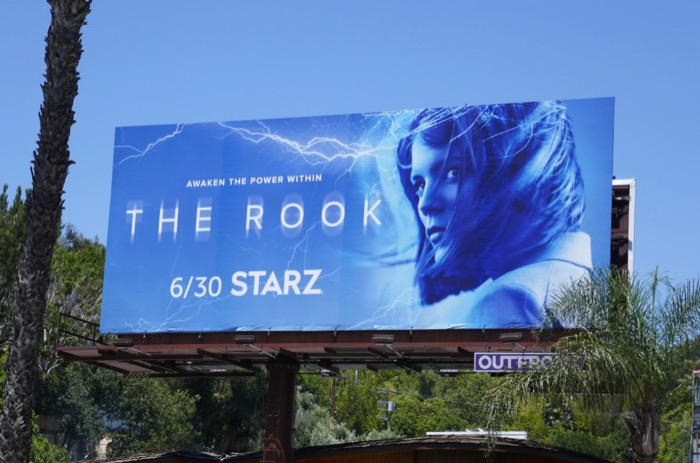 Rook series launch billboard