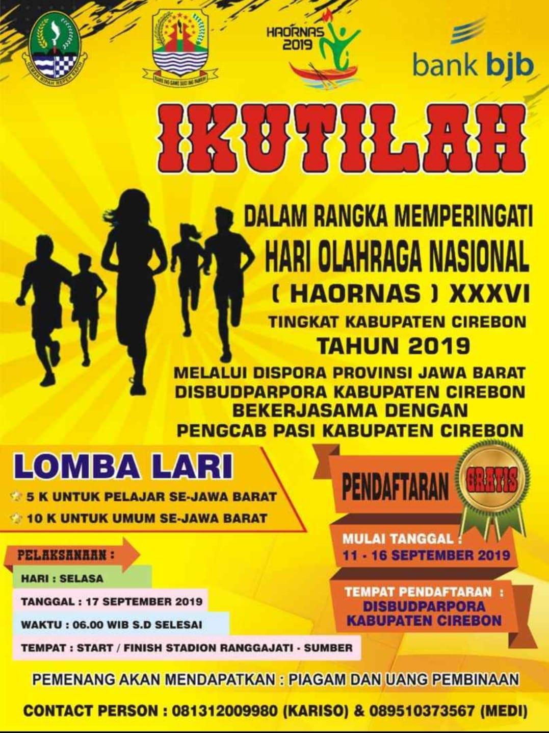 Lomba Lari - Cirebon • 2019