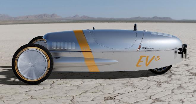 Morgan EV3 initial prototype