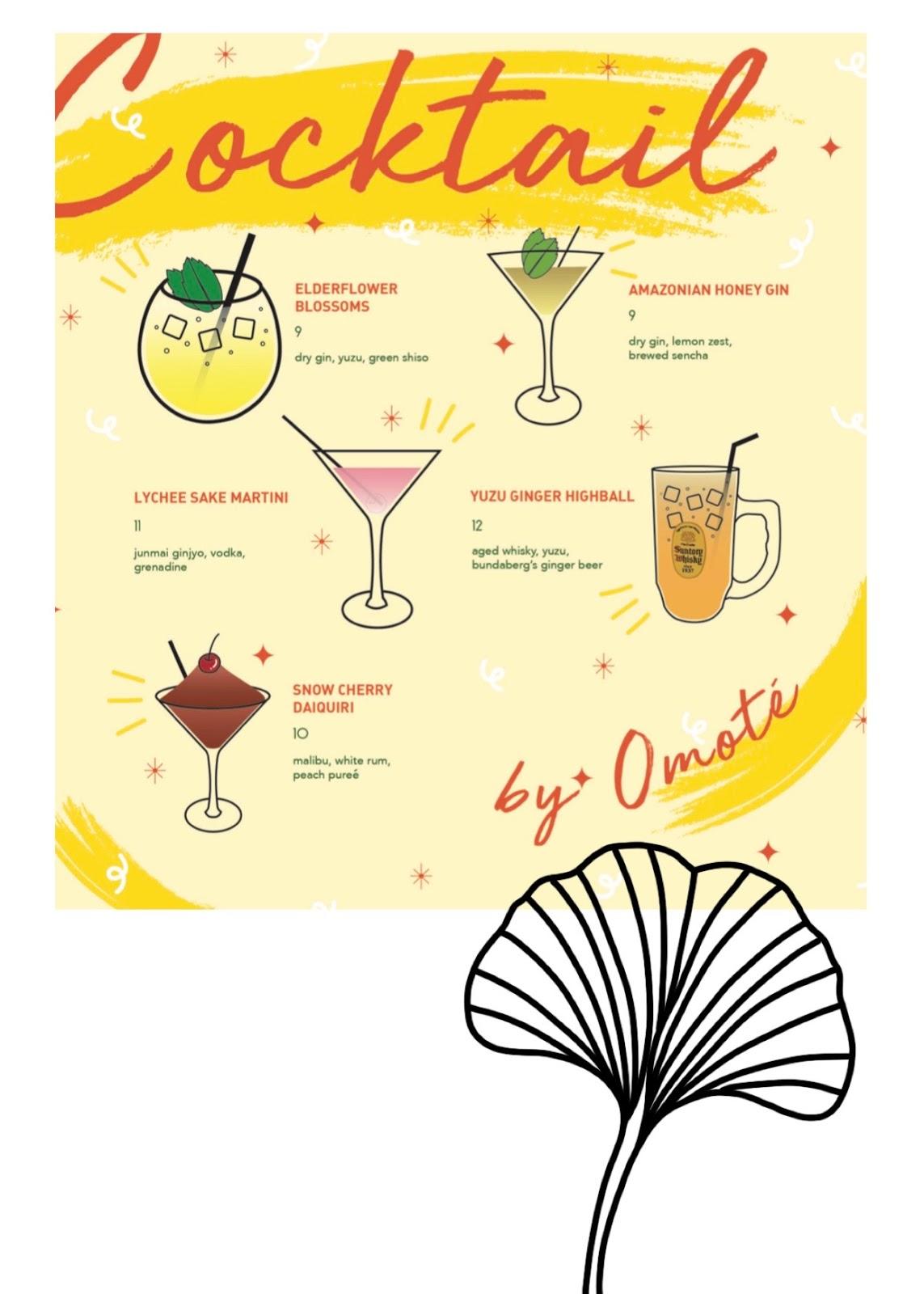 omote menu 19