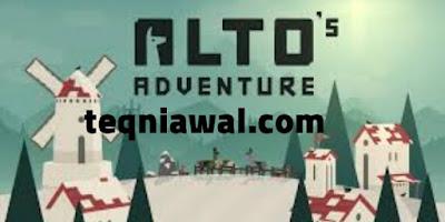Alto's Adventure - أفضل ألعاب اندرويد لعام 2021