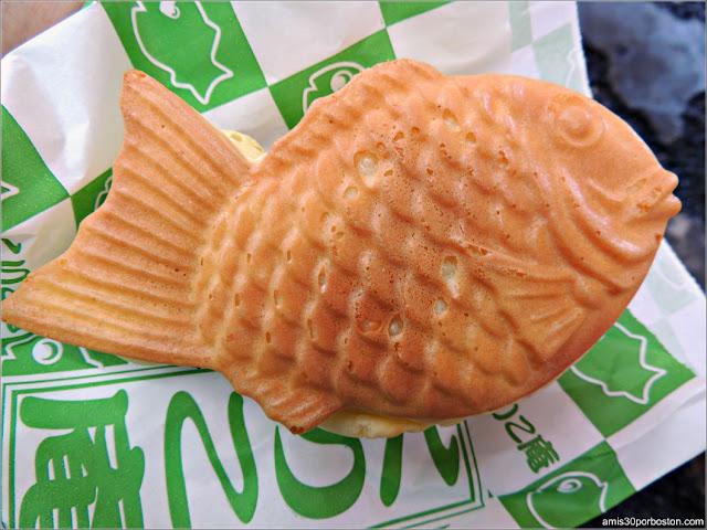 Taiyaki Kuriko-An Relleno en Tokio, Japón