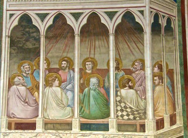 La Pentecoste - Giotto - Cappella degli Scrovegni - Padova