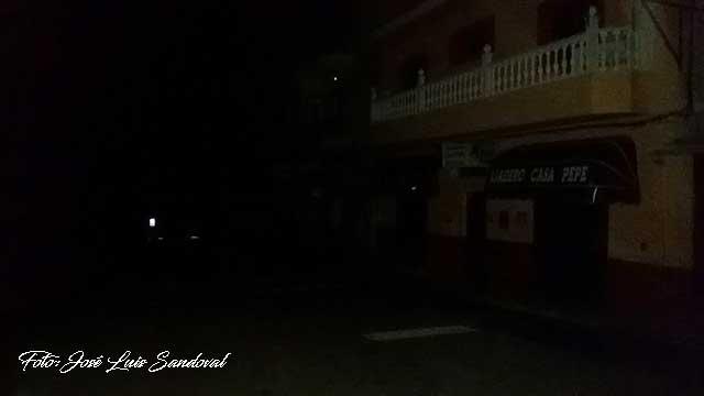 Muchas zonas de Gran Canaria han tenido apagón de luz por las lluvias del lunes 11 diciembre
