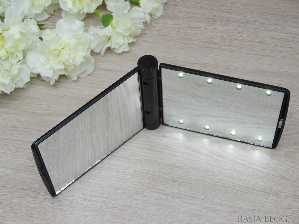 Lusterko LED z AliExpress, LED mirror AliExpress