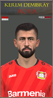 PES 2017 Faces Kerem Demirbay by Mo Ha