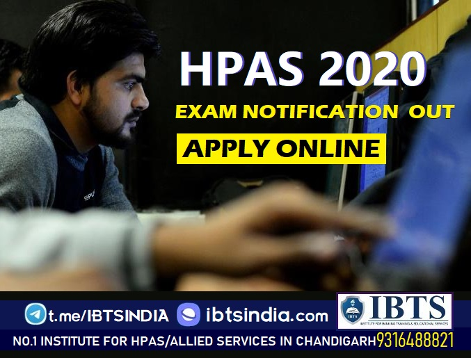 HPAS 2020 Notification Out   HPAS 2021   16 Vacancies   Apply Online Now