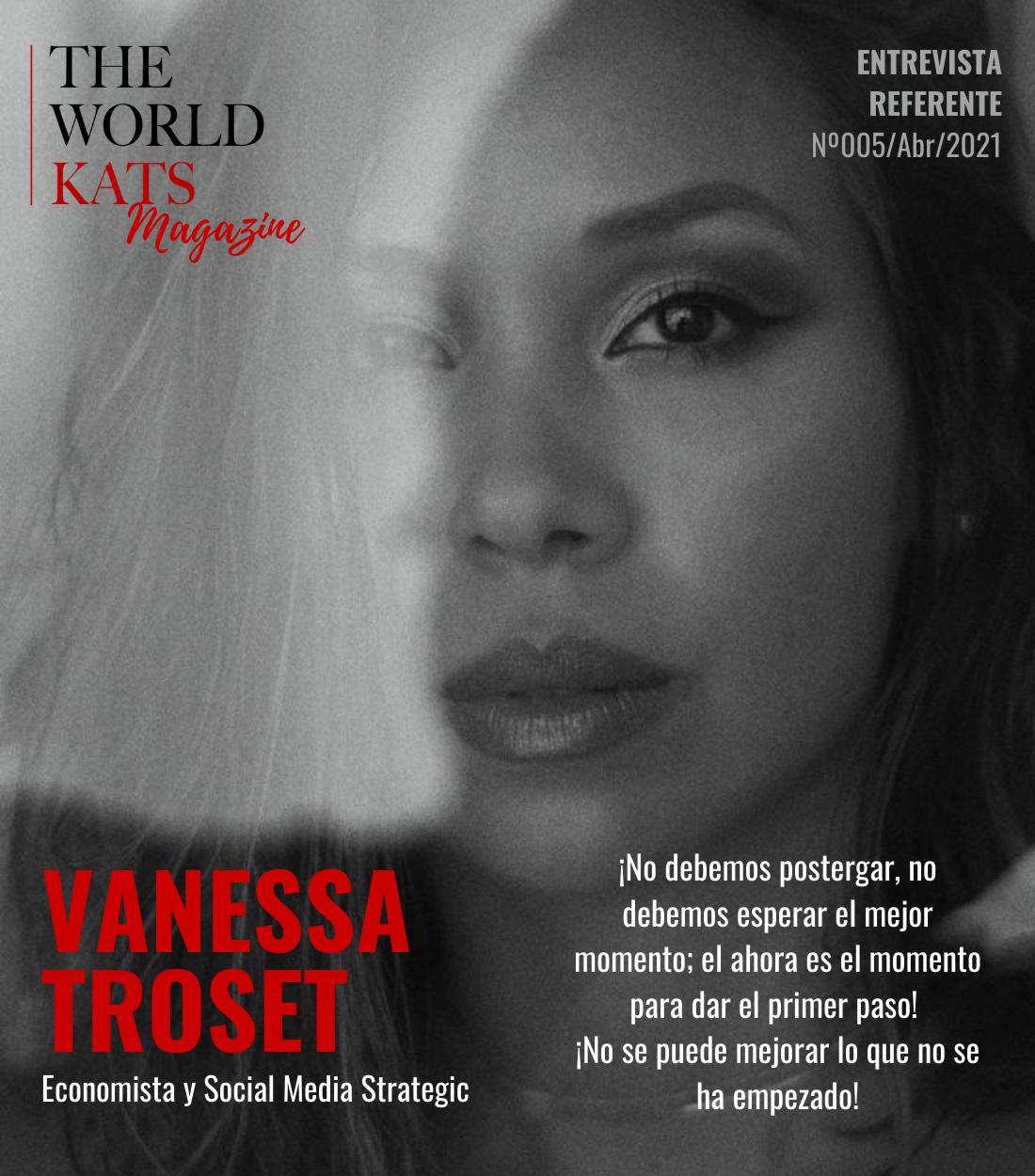 Entrevista a Vanessa Troset