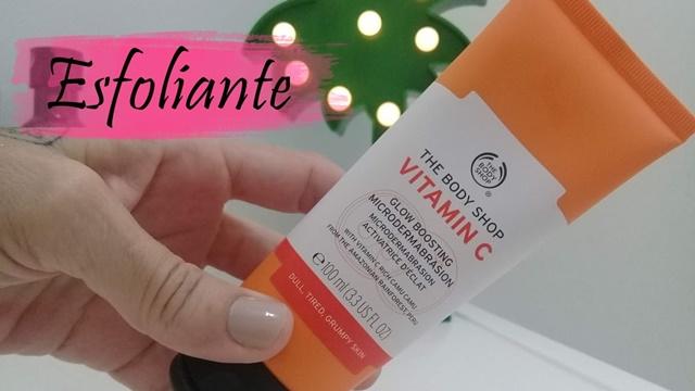 Esfoliante Microdermoabrasão Vitamina C
