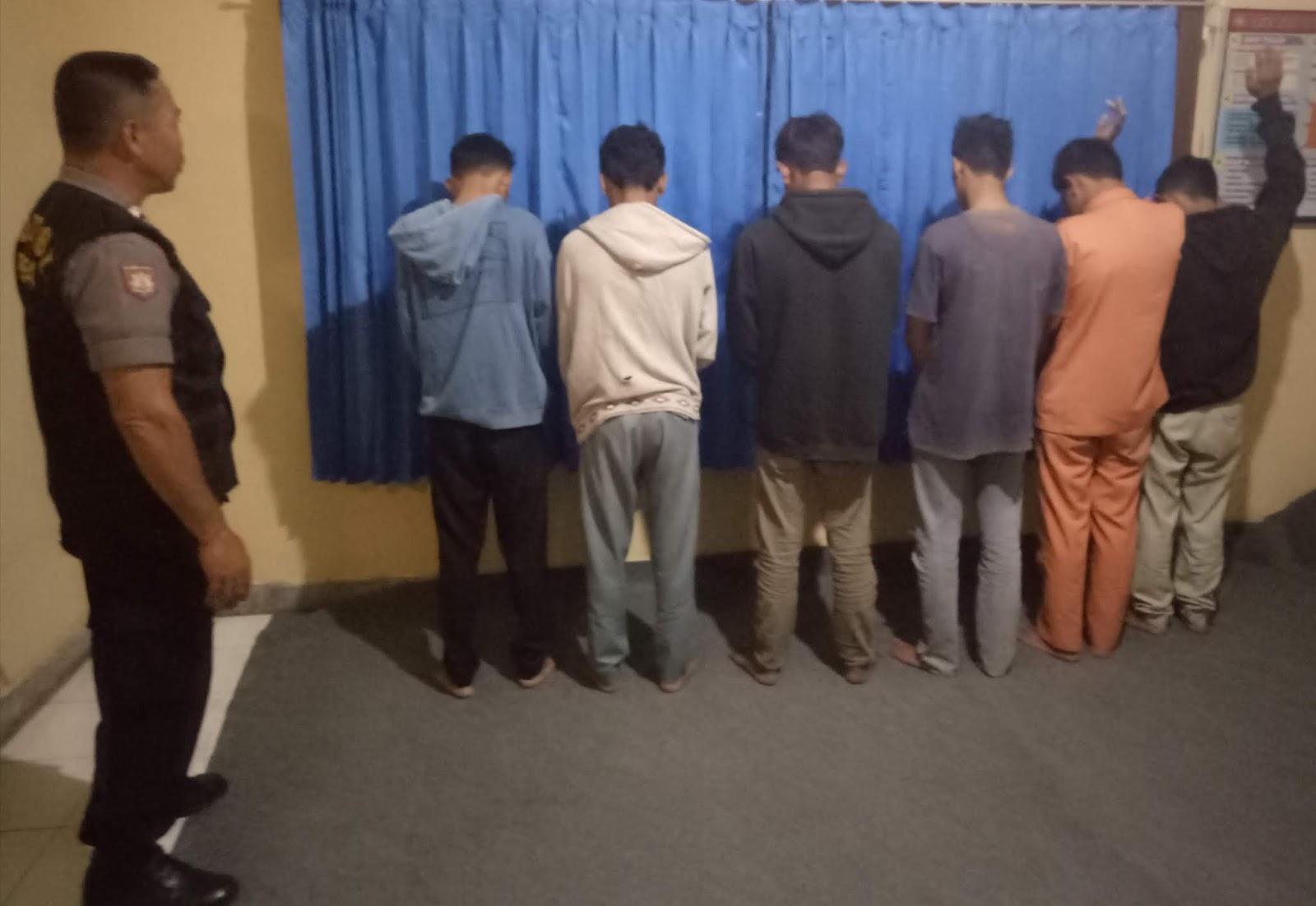 Tawuran Tiga Pelajar Kena Bacok Polisi Amankan 9 Orang
