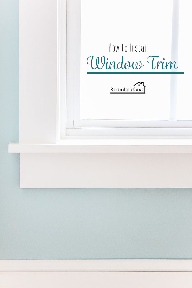 Bedroom windows - teal walls