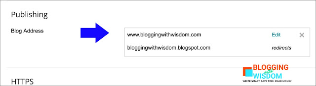 How to move your blogspot domain to a custom domain