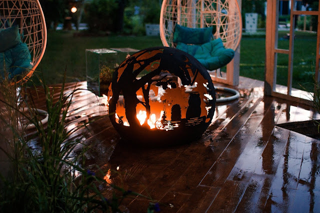 Amazing outdoor fire pits from Firecup