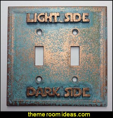 Star Wars (Light/Dark Side) Double Light Switch Cover