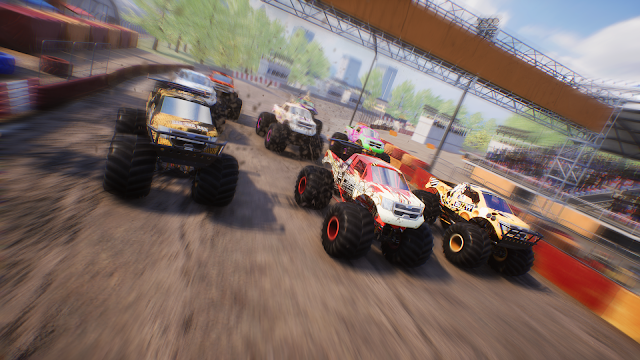 Screen shot from Monster Truck Championship