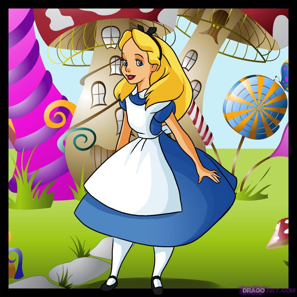 Pj53dg wonderland - Alice in wonderland cartoon pictures ...