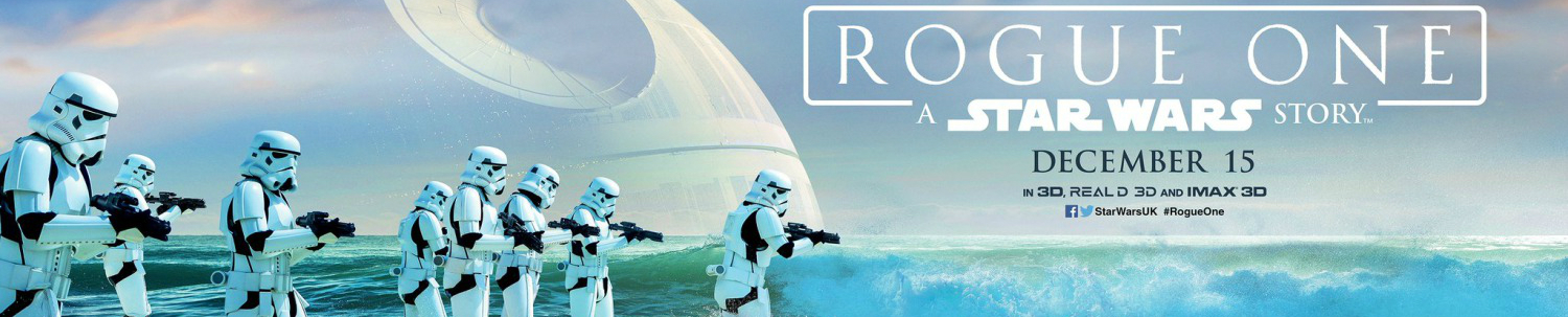 Rogue One A Star Wars Story (2016) Banner