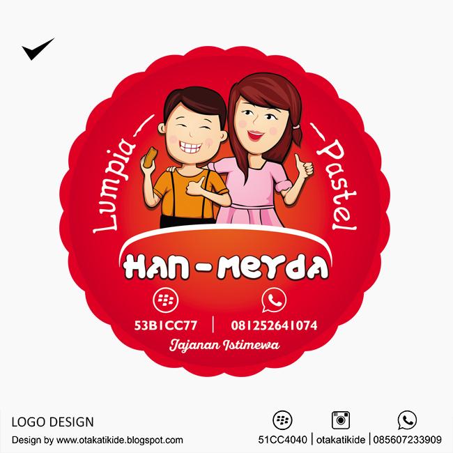 Label Han-Meyda Lumpia Pasteljasa Desain Kemasan Produk