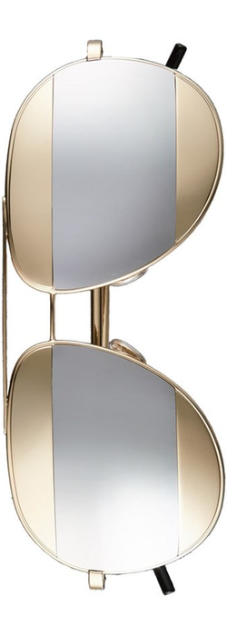 Christian Dior 'Split' 59mm Aviator Sunglasses