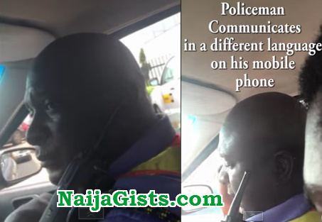 police inspector bribe