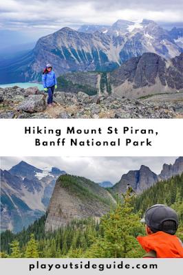 Hiking Mount St Piran pinterest pin