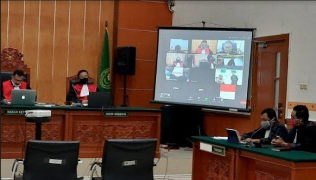 Terdakwa penusukan Mantan Menko Polhukam di Vonis 12 tahun penjara