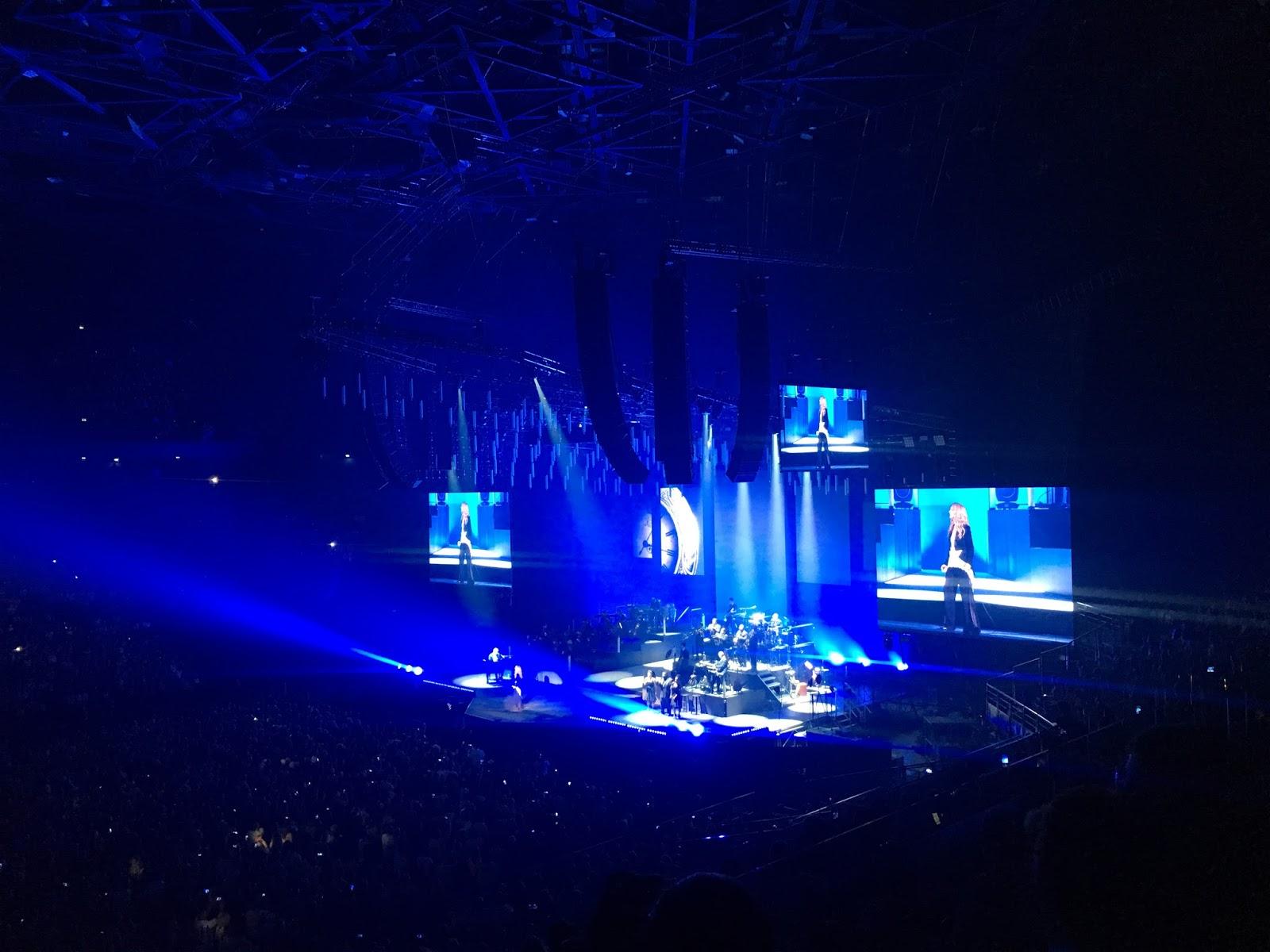 céline dion concert