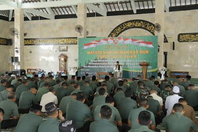 Pangdam IX/Udayana : Perilaku Utama Nabi Muhammad SAW Jadikan Suri Tauladan Dalam Kehidupan