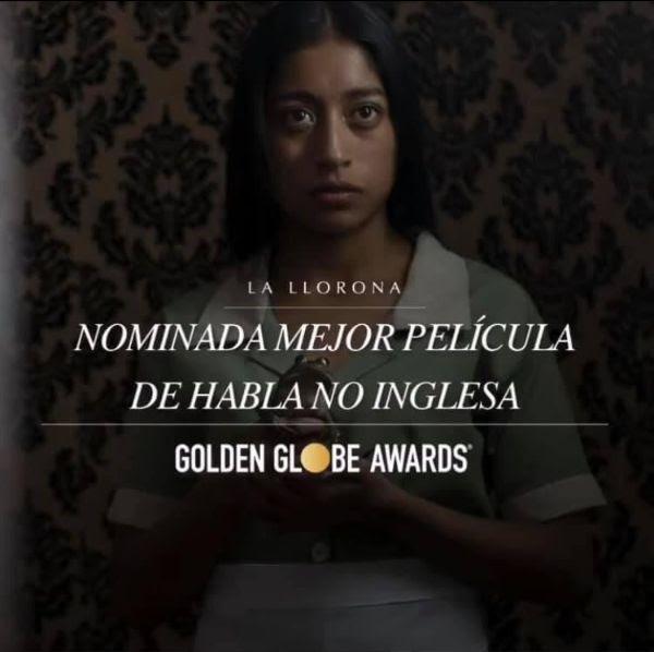 El trabajo de Pascual Reyes llega a los Golden Globes
