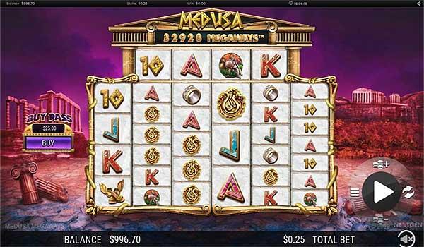 Main Gratis Slot Indonesia - Medusa Megaways (Nextgen Gaming)