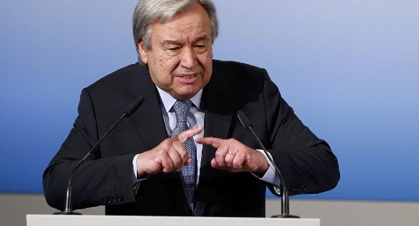 Guterres alerta sobre los cuatro Jinetes del Apocalipsis