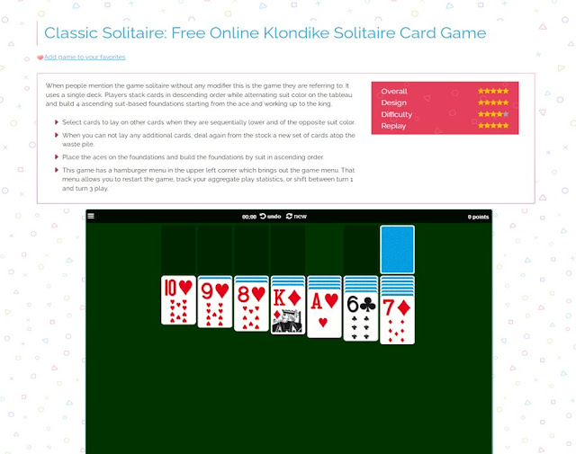 game classic solitaire