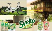 Logo Concorso '' Svelto vivi Eco '': in palio Piaggio Wi-Bike e Weekend Casa sull'albero
