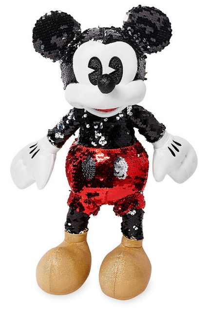 Disney Mickey Mouse Sequin Plush Toy