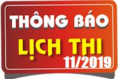 Lịch thi sát hạch lái xe ô tô B1, B2, C, D, E tháng 11/2019 tại Hà Nội