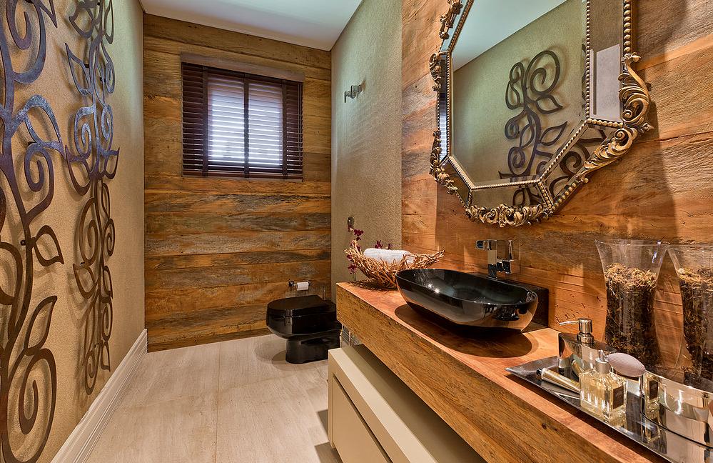 decoracao lavabo rustico : decoracao lavabo rustico:Lavaboé lugar pra ousar!