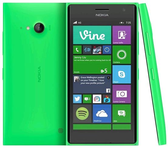 نوكيا لوميا Nokia Lumia 735 تطبيقات ويندوز فون