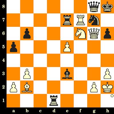 Les Blancs jouent et matent en 3 coups - Gideon Stahlberg vs A Westol, Moscou, 1956