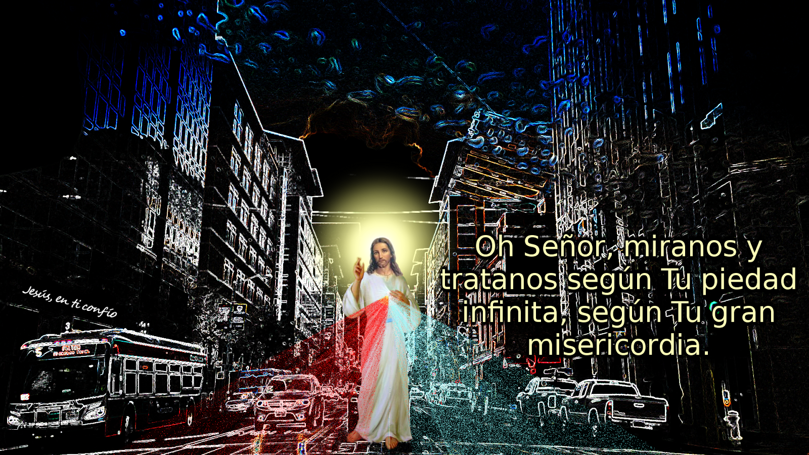 divina misericordia en la ciudad