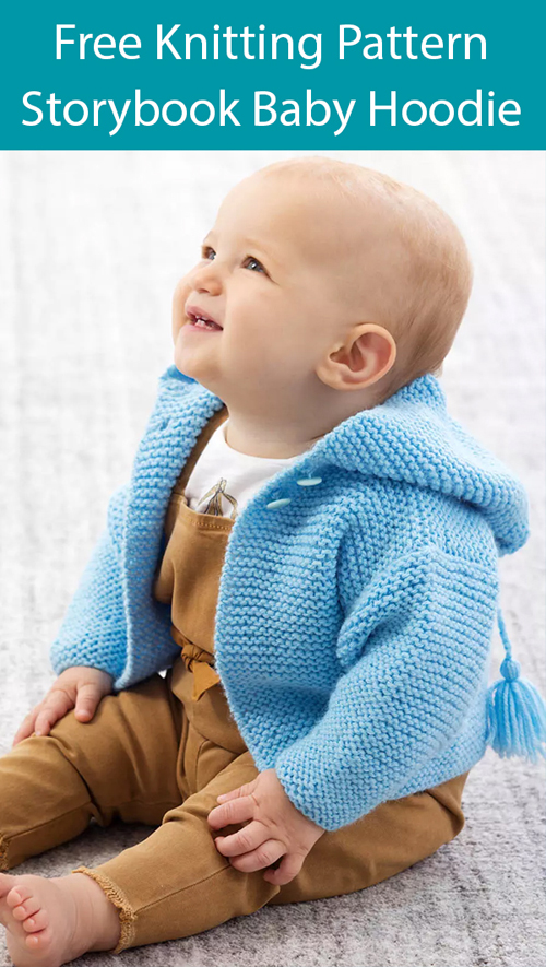 Storybook Baby Hoodie - Free Pattern