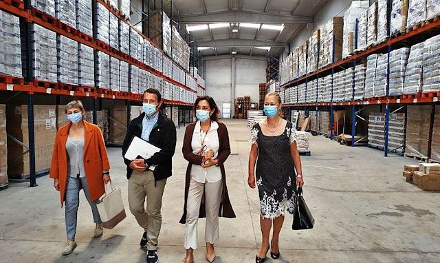 Cruz Roja distribuirá 212 toneladas de alimentos en toda la provincia