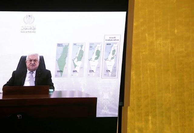 Abbas dá a Israel prazo de um ano para deixar o território palestino