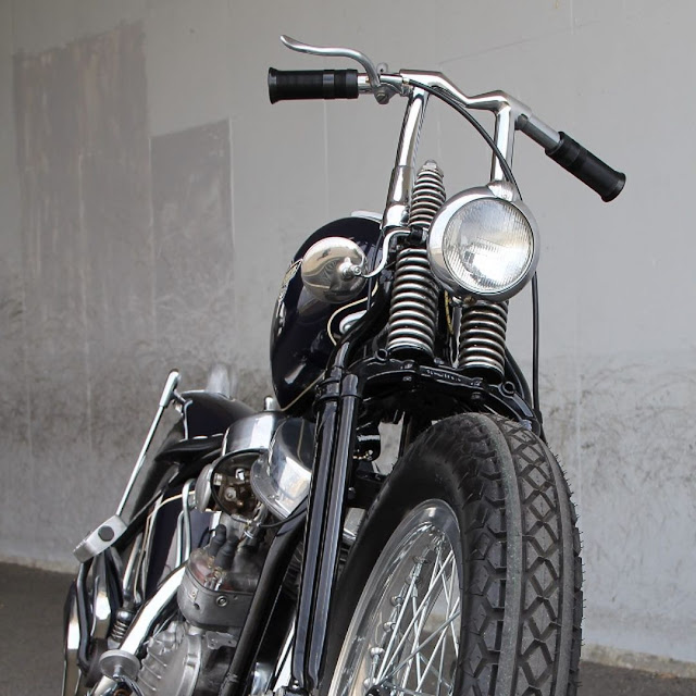 Harley Davidson Panhead By Hot Chop Speed Shop Hell Kustom